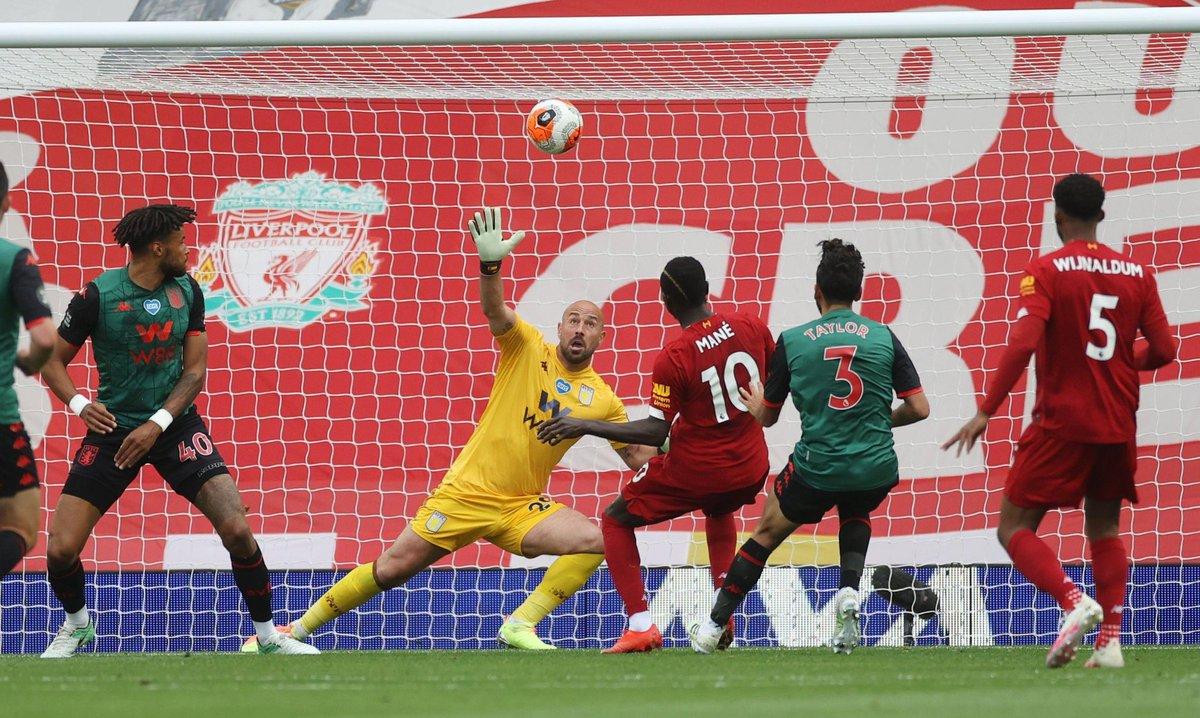 Xem lại Liverpool vs Aston Villa, Ngoại hạng Anh – 5/7/2020