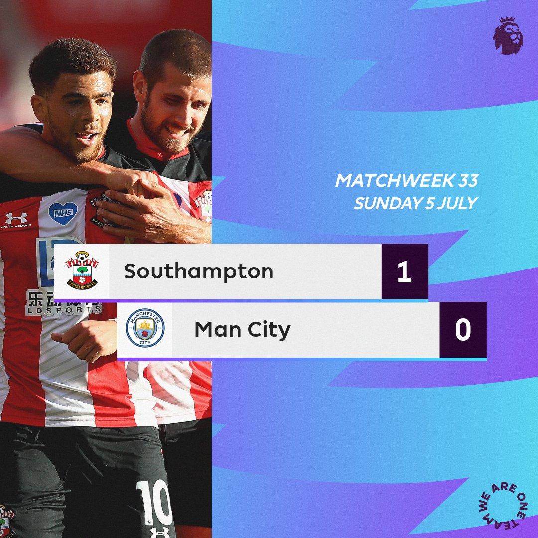 Southampton-Man City
