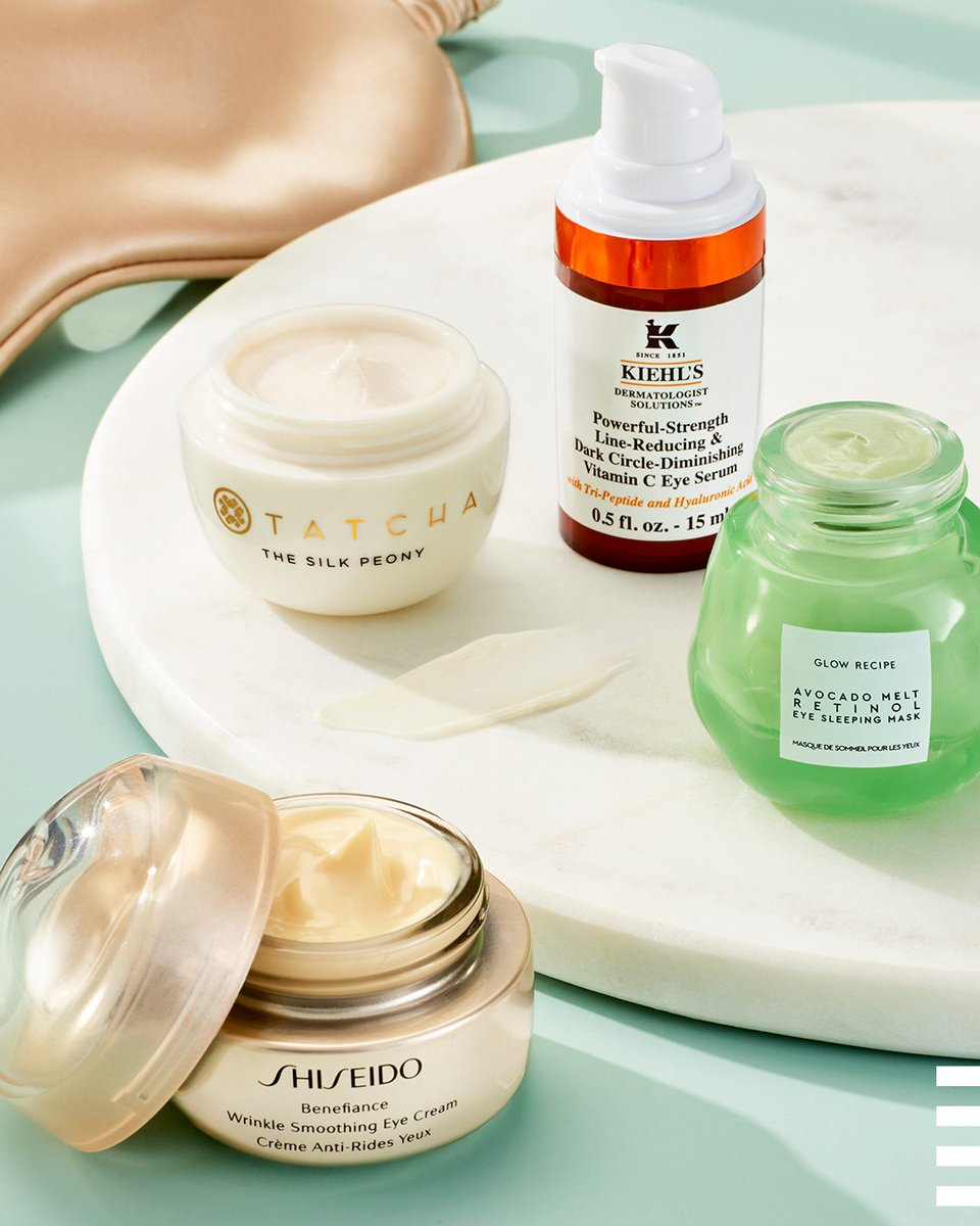 What do all these eye creams have in common?  If you guessed that they all target under-eye fine lines and wrinkles, you're right. But if you guessed they all look amazing on a countertop, you're also right 😉 … @tatcha_v @glowrecipe @kiehls @shiseidousa  https://t.co/zDG4j95jtg https://t.co/vqu5iQBOqt