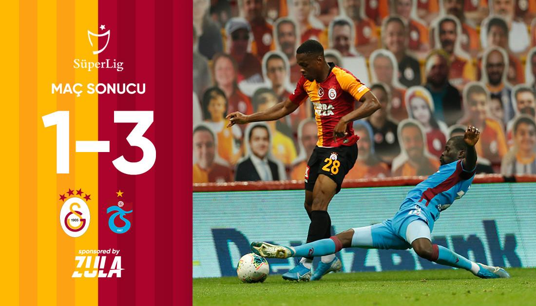 Maç sonucu: Galatasaray 1-3 Trabzonspor #GSvTS https://t.co/BqFzMIWsOf