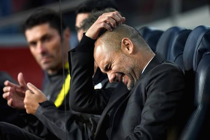 @ManCity's last 3 #PremierLeague away games 😳  #ManU 2-0 #ManCity ❌  #Chelsea 2-1 #ManCity ❌  #Southampton 1-0 #ManCity ❌   #Flames😤   #SOUMCI https://t.co/IvNX4r9PlD