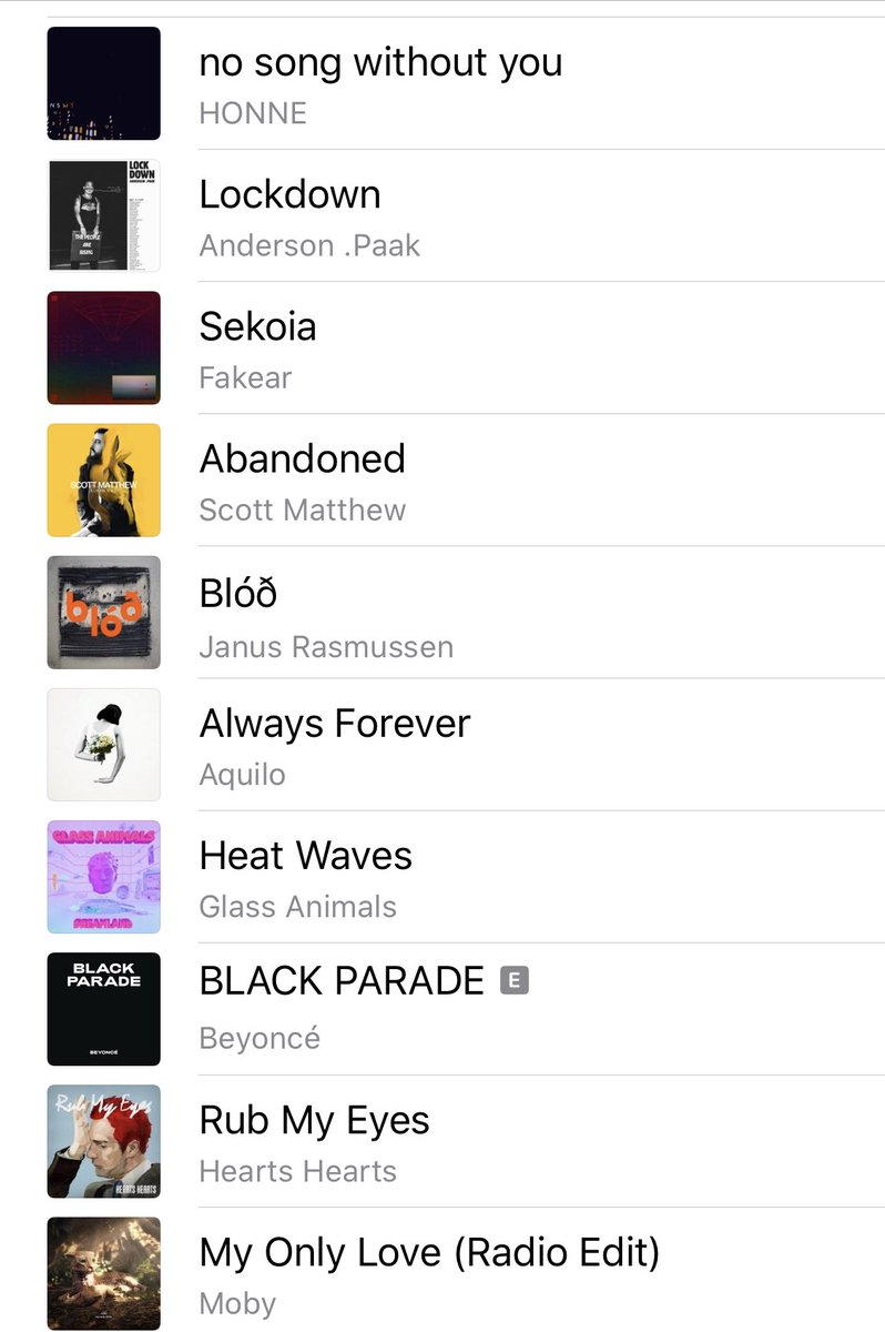 Meine Top 10 diese Woche. Apple Music Playlist wie immer hier: https://music.apple.com/at/playlist/on-the-go/pl.69d33567b19a4072bfa16838d74169c5 …pic.twitter.com/JJCJD3j2O7  by Marco Schreuder 🏳️‍🌈👊🏿