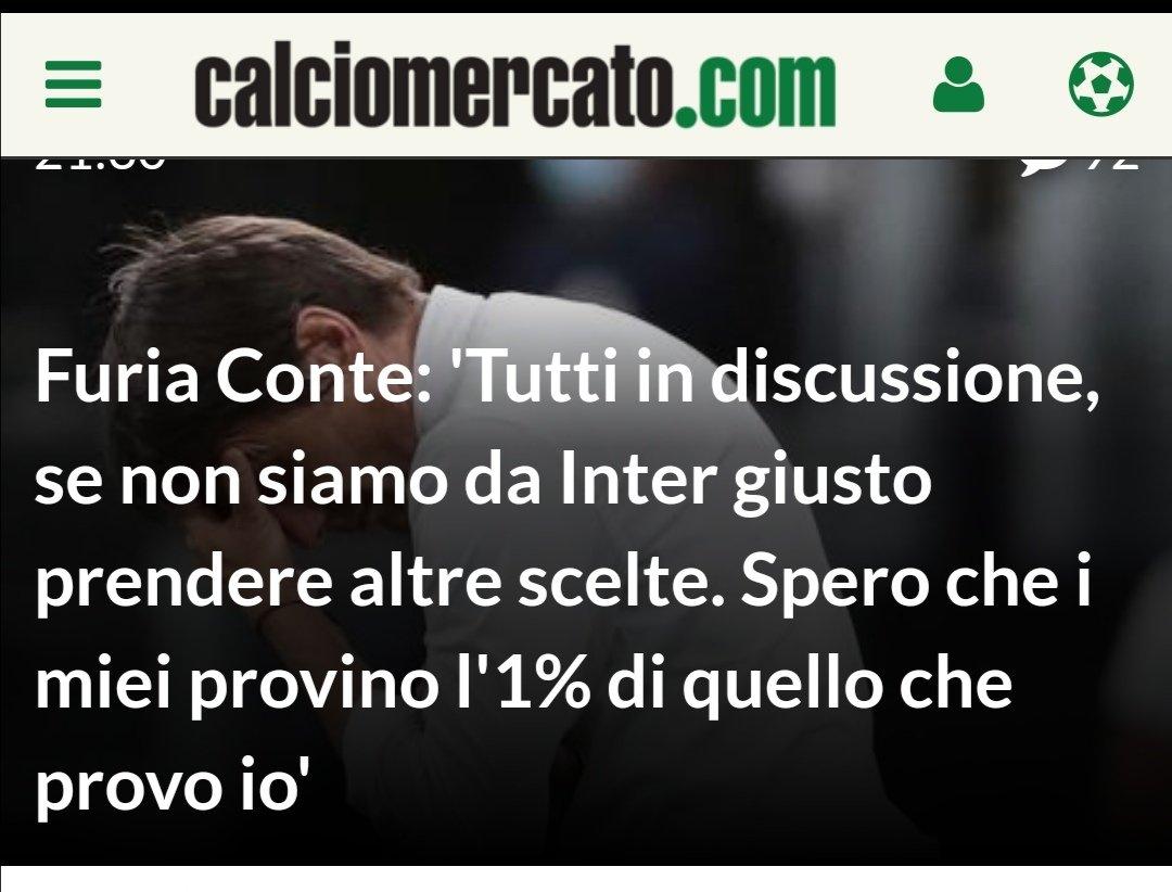 Avete presente i #DejaVu?? A me la storia di #Conte ricorda tanto quella di un altro allenatore che arrivava della #Juventus : tale #Lippi... O sbaglio??? 😉 #InterBologna #Anala #AntonioConte @Gazzetta_it @Corriere Sono anni meravigliosi.. Grazie mille!!! 😂😂😂😂😂😂😂😂 https://t.co/8s0d2Lh8Ip