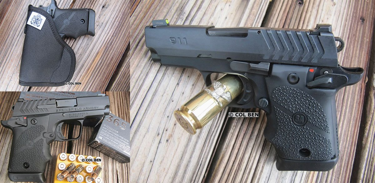 If you like 1911s, then you might like this pocket gun from @Springfield_Inc. Ben puts it through the paces in his detailed review of the Springfield Armory 911 9mm.  Springfield Armory 911 9mm Review http://bit.ly/2Q8aPSl  #firearms #guns #concealedcarry #ccw #pocketcarrypic.twitter.com/iCScUvtkxT