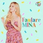 Image for the Tweet beginning: Mina x FANFARE 🙈😍 . . . . #TWICE #MOREANDMORE