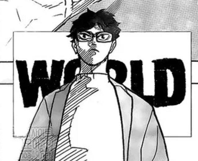 bokuto siempre menciona la palabra mundo
