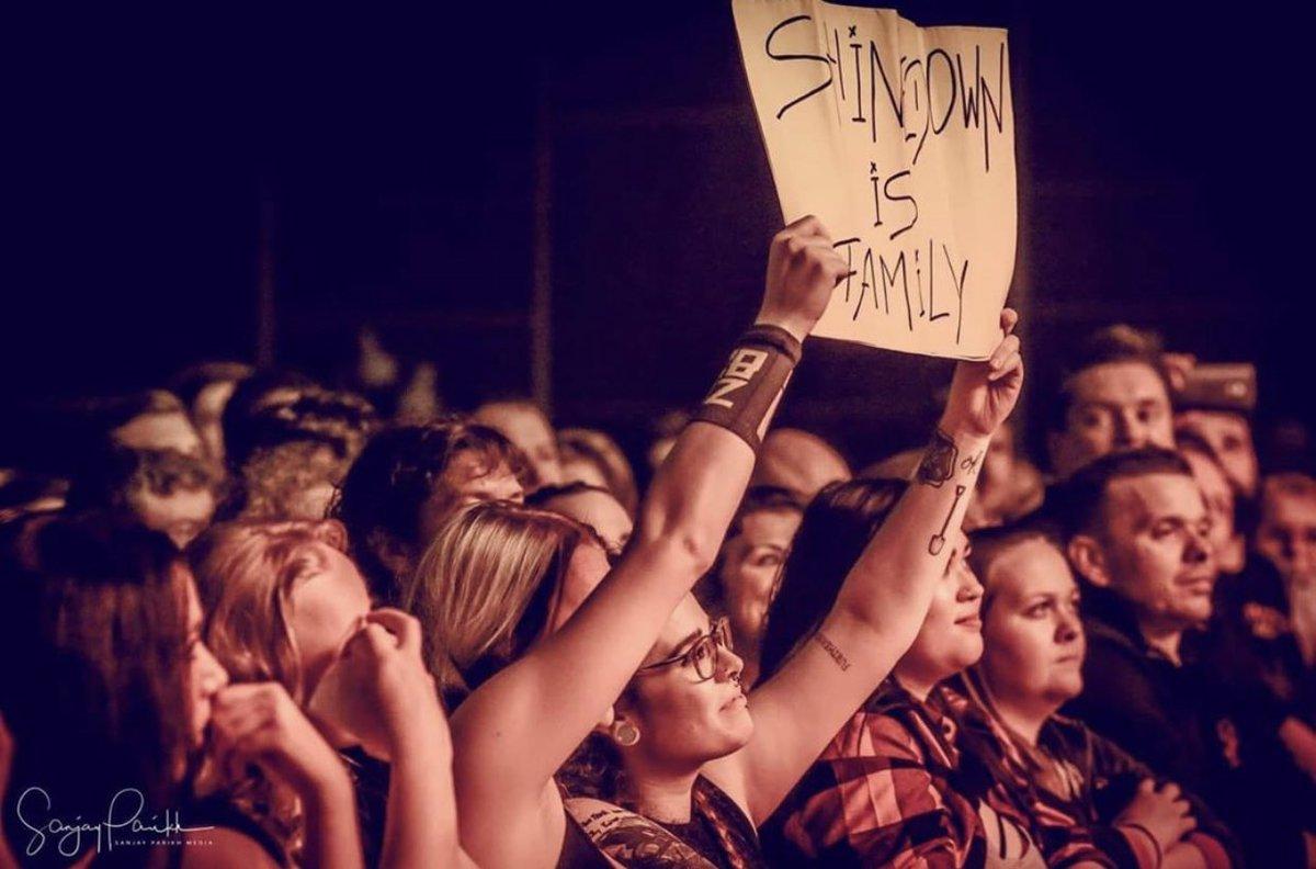 Happiness is family aka Shinedown Nation. 💛🤘