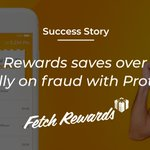 Image for the Tweet beginning: How did Protect360 help @FetchRewards