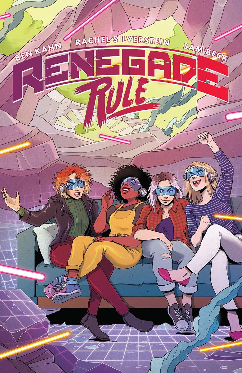 Got some new followers the last couple weeks, so maybe time for a reintroduction! My name's Ben Kahn (prefer Bee in social settings), and I'm a comic book writer! My next OGN is RENEGADE RULE with @flirtymango and @_twothirty. It's a queer eSports story from @DarkHorseComics! https://t.co/JvN7pG5EWT