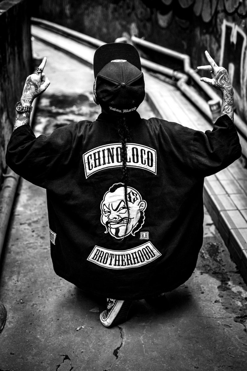 ChinoLoco El Asian Barrio Bangkok ThaiLAnd #ChinoLocoBrand #AsianBarrio #Chicano #Cholo #OG #Bangkok #Thailand #Mexican https://t.co/LMG1AfOLHI
