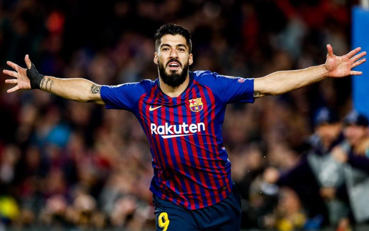 Suárez iguala a Kubala en goles con la camiseta blaugrana. Ahora mismo está tercero en la lista de máximos goleadores del club, con un total de 194 tantos.  Simplemente Suárez. pic.twitter.com/5EOVROg0BZ  by Furia Culé