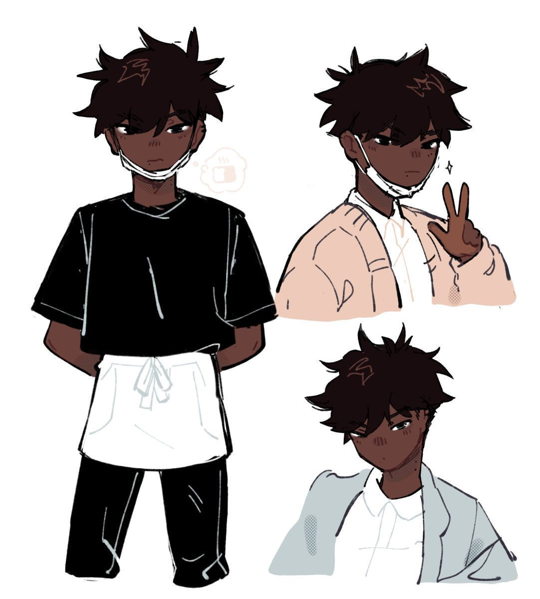 did a blind otp w @DEKlROS and this is my kid :')) his names brett and he works at a bakery bc he wants the reject breadpic.twitter.com/5fQy7wAEtJ