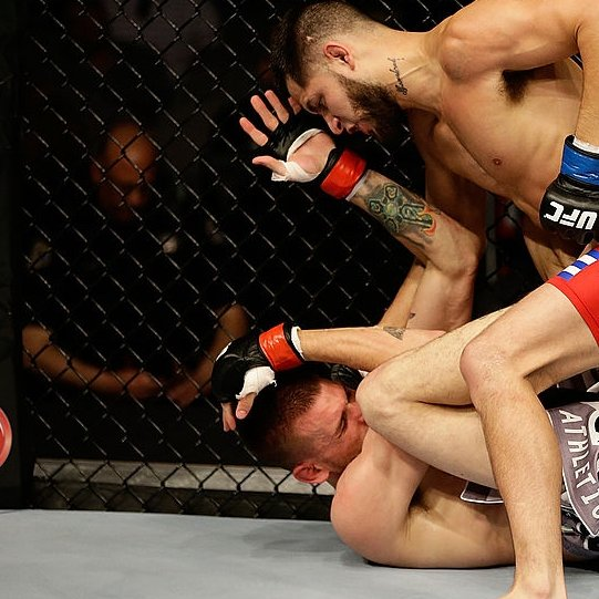April 20th, 2013: #JorgeMasvidal makes his #UFC debut in the lightweight division against Tim Means. Masvidal wins by unanimous decision in his debut. #UFC249 #Reelfights #Jorge #UFC251 #UFCFightIsland #MMA #MMATwitter https://t.co/LYNpDOc1L0