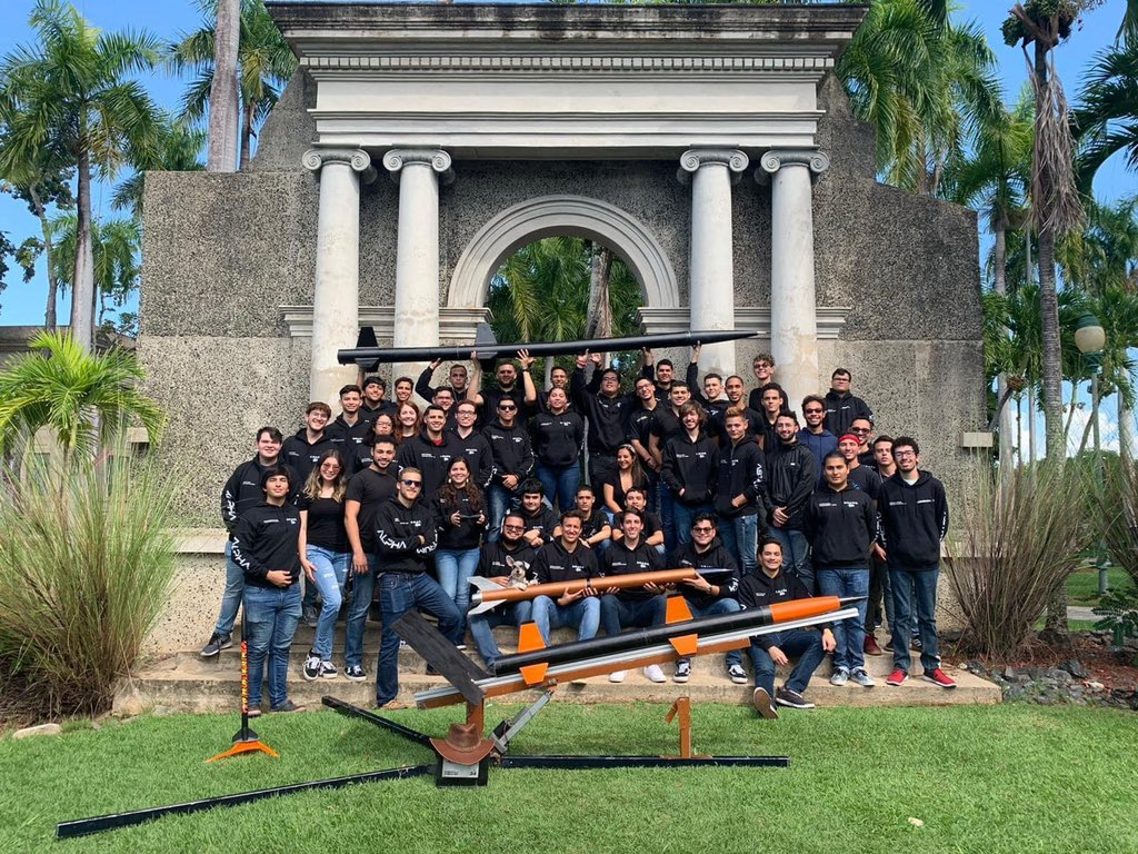 Asked: how is it possible that we don't have a rocket team at @uprm? We had the passion, skills and motivation. Thus, along with a couple friends of mine, we founded @AlphaAstrum to develop the rocketry industry at @uprm and engage the student community in such projects!pic.twitter.com/UwORmofFoP