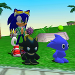 Image for the Tweet beginning: My two sons. #Sonic #Chao