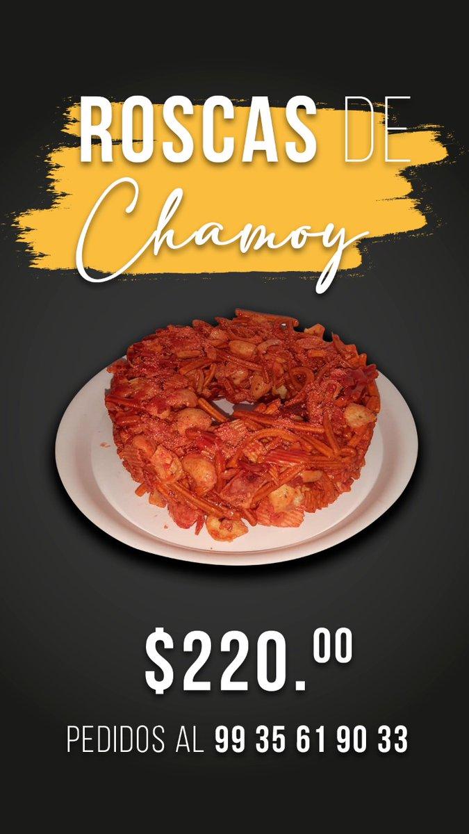 ¿Una botanita? 🤤 Disfruta de una deliciosa rosca de chamoy.  Pedidos al 📲 99 35 61 90 33 #ConsumeLocal 🛒 https://t.co/4Ic2rsFV5u