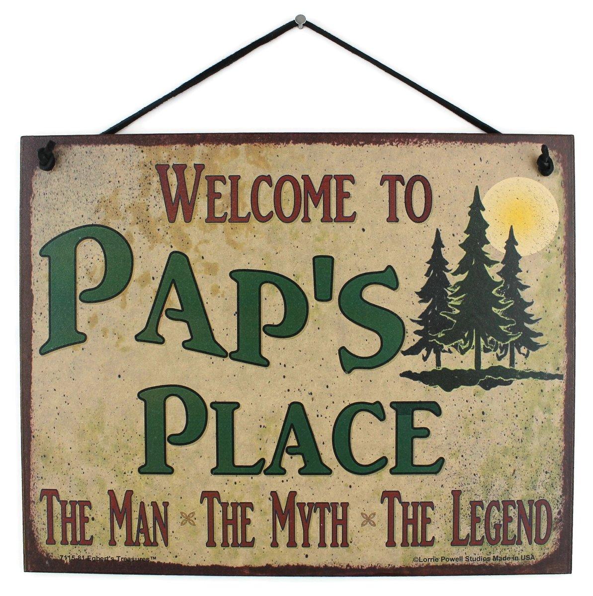 Good ol' Pap.  He's pretty dang cool.  Get this sign for Grandpa here: https://www.amazon.com/dp/B00IEOUKOK  #Pap #Grandpa #GiftsForHim #CoolGrandpa #GiftIdeas #GiftsForGrandpa #GiftIdeas #Seniors #Love #Family #ManMythLegend #Dad #Grandfather #Grandparents #EgbertsTreasurespic.twitter.com/cdO0aWkZ0T