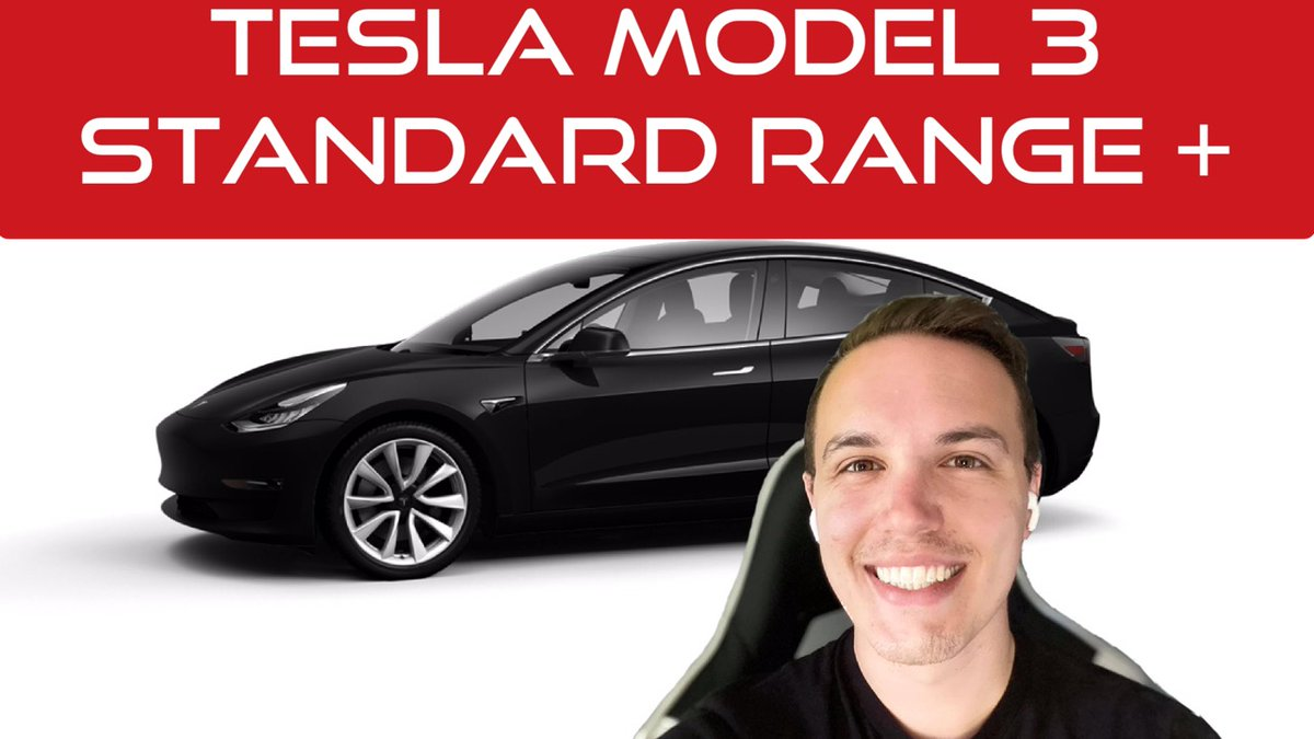 I had audio issues on the previous upload, but I believe they're fixed now!  New video is up! https://t.co/iIJb46Y85K #TeslaModel3 #Tesla #ElonMusk https://t.co/kmtWnwnLTp
