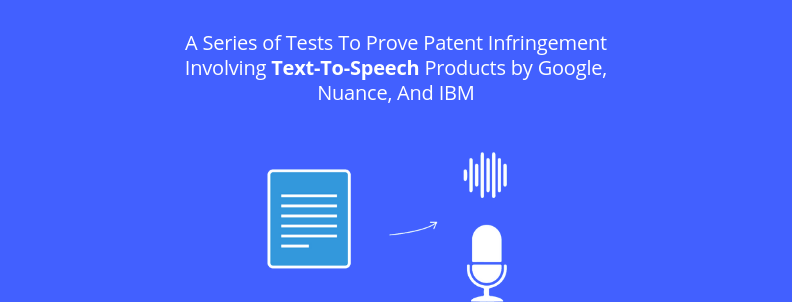 This piece deep dives into how a series of tests proved that #patent infringement was involved with text-to-speech products made by #Google, Nuance, and IBM.   https://t.co/2pRZ7LSqq3 via @greybservices  #trademark https://t.co/BXigk83M8a