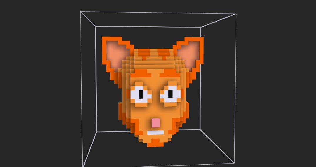 Cat in the mask available on @opensea ! 🐱🐱🐱🐱 opensea.io/assets/0xa58b5… Unique piece! cryptovoxels.com/play?coords=N@…