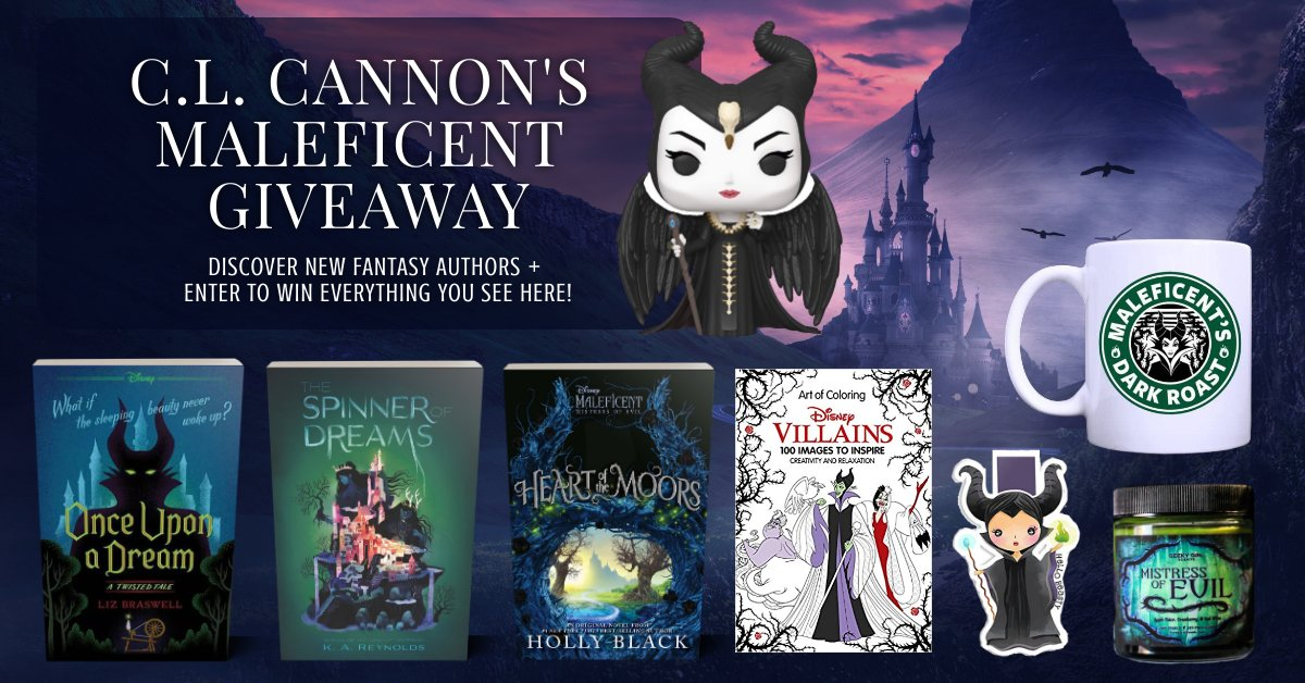 🐲If you love the mistress of evil, #fae, & #fairytales, then this #giveaway is for you!➡️https://t.co/aCHLfTLdzS🏰  🧚♀️#Win #OnceUponADream, #TheSpinnerOfDreams, #HeartOfTheMoors, #Disney Villians coloring book, coffee mug, #Maleficent #Funko, candle, & a magnetic bookmark!🐲 https://t.co/EWZfW0tzhA