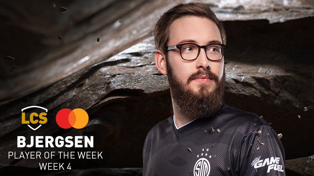 Congratulations to @Bjergsen of @TSM on winning the @MastercardNexus Player of the Week for week four of the 2020 #LCS Summer Split! #TSMWIN