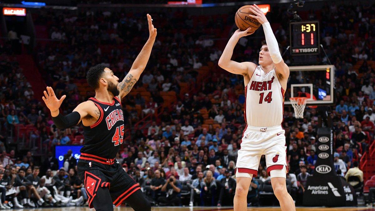 Heat rookie Tyler Herro has been studying Klay Thompson to improve his shot 👀📽️  https://t.co/u0pGfJJyrm https://t.co/zQSbkMswr6