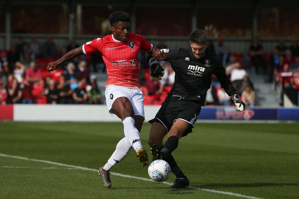🗞Port Vale lead the chase ahead of a number of National League sides to sign former Salford City striker Devante Rodney. #PVFC #WeAreSalford #EFL_HUB https://t.co/i46CRmFG1m