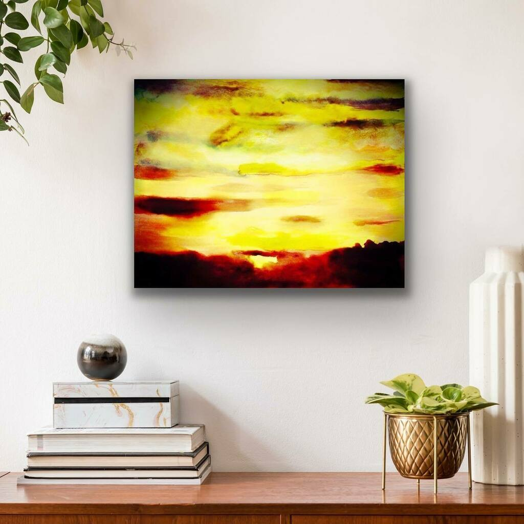 Oil Color Abstract Painting  This Beautiful painting reflects the beautiful color of sunset. Now at Pamoja #homedecor #pamojaart #abstractart #oilpaint #originalart #abstractpainting #artist #design #interiordesignpic.twitter.com/NDykda6qD5