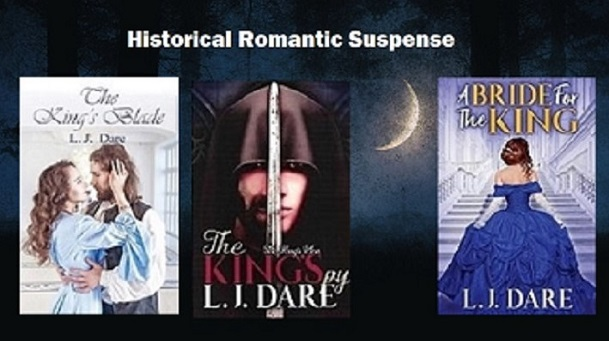 LJDare1 Will The King's Spy -   surrender his heart? Read Ch. 1 excerpts:  Bk 1-The King's Blade     #BVS #AltRead #MondayMotivation #cleanreads #Nook #suspen…