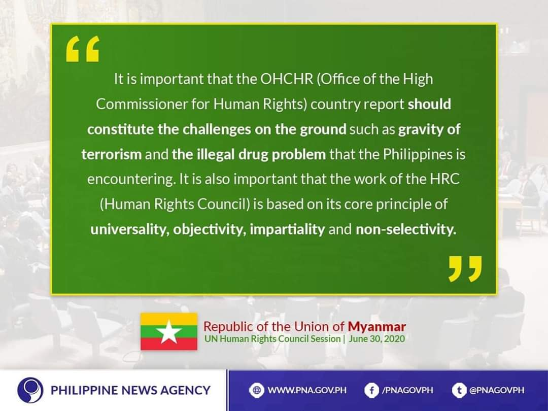LOOK | ASEAN countries recognize the Philippines' efforts to establish mechanisms and address #HumanRights issues related to its anti-illegal drugs campaign.pic.twitter.com/eEdct6gYcp