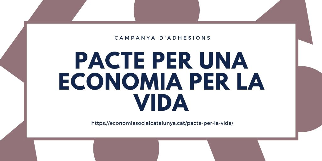 🔵 Fem una crida al conjunt de l'#ESS, al sindicalisme, al municipalisme, als moviments socials i veïnals, a les pimes, a les forces polítiques, al @parlamentcat i @govern per impulsar un pacte per una #EconomiaPerLaVida.  Recollida d'adhesions ⬇️  https://t.co/iTVVvPj3dp https://t.co/1uhMskSZ2p