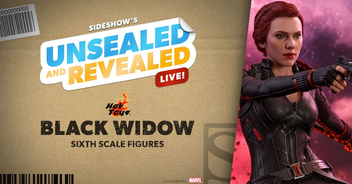 Natasha is making a guest appearance tomorrow at 10 AM PST LIVE! Watch Unsealed and Revealed with @heytherejeffro and Guy to get your questions about the #BlackWidow 1:6 by @hottoysofficial answered. We'll be live on all of our platforms! #SideshowCollectibles #Marvel #Endgame
