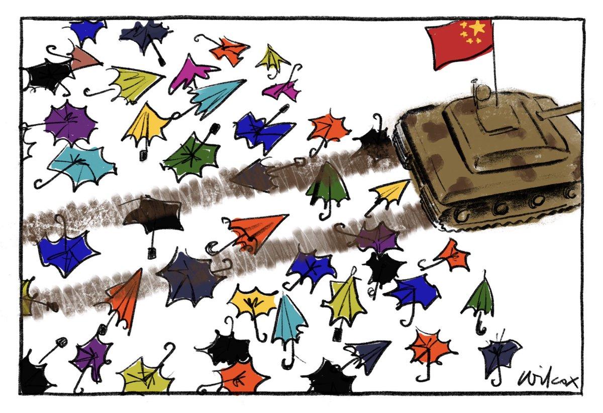 #Democracy #HK #China Crushed by @cathywilcox1 @smh @theage  https://t.co/lXbCt29uXs #auspol #hometobilo #4Corners ritual #Insiders