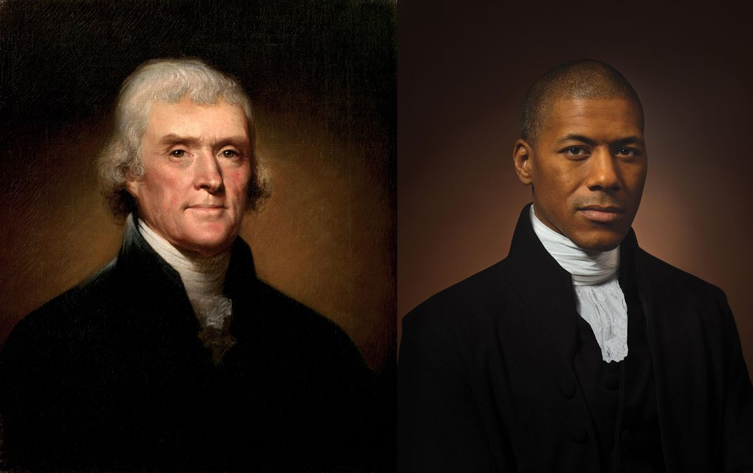 Thomas Jefferson alongside Black great-grandson holds 'a mirror' to U.S. https://t.co/X8IrxKc1s7 https://t.co/NYqjcqO6T6