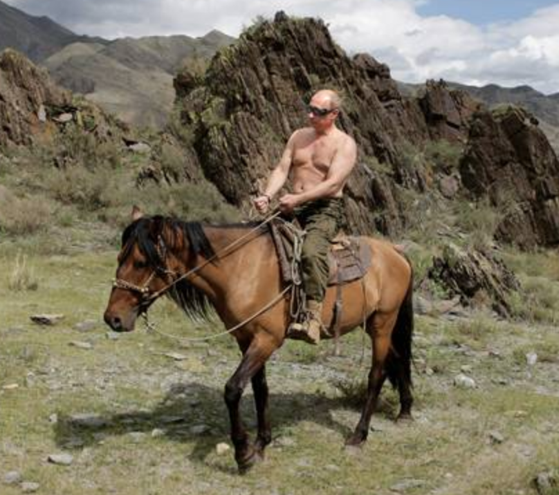 @thehill Much the way a horse reveals something about the shirtless man on top of it.