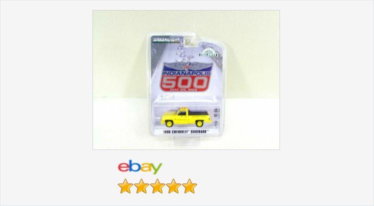 Greenlight 1986 Chevy Silverado Yellow Truck Indianapolis 500 NIP 2020 | eBay #greenlight #chevy #silverado #ChevySilverado #86Silverado #Indy500  https://t.co/okEuO9XMuY (Tweeted via https://t.co/nQi0oquTl3) https://t.co/NztkP6BwvP