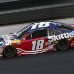 Image for the Tweet beginning: Busch brings the No.18 @Skittles