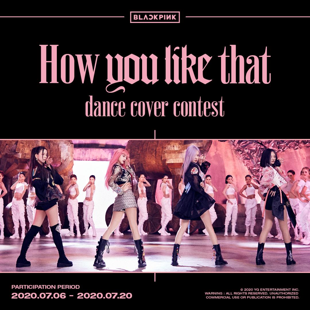 #BLACKPINK How You Like That DANCE COVER CONTEST MORE INFO ▶️facebook.com/25056488532494… #블랙핑크 #JISOO #JENNIE #ROSÉ #LISA #HowYouLikeThat #HYLT_Dancecovercontest #YG