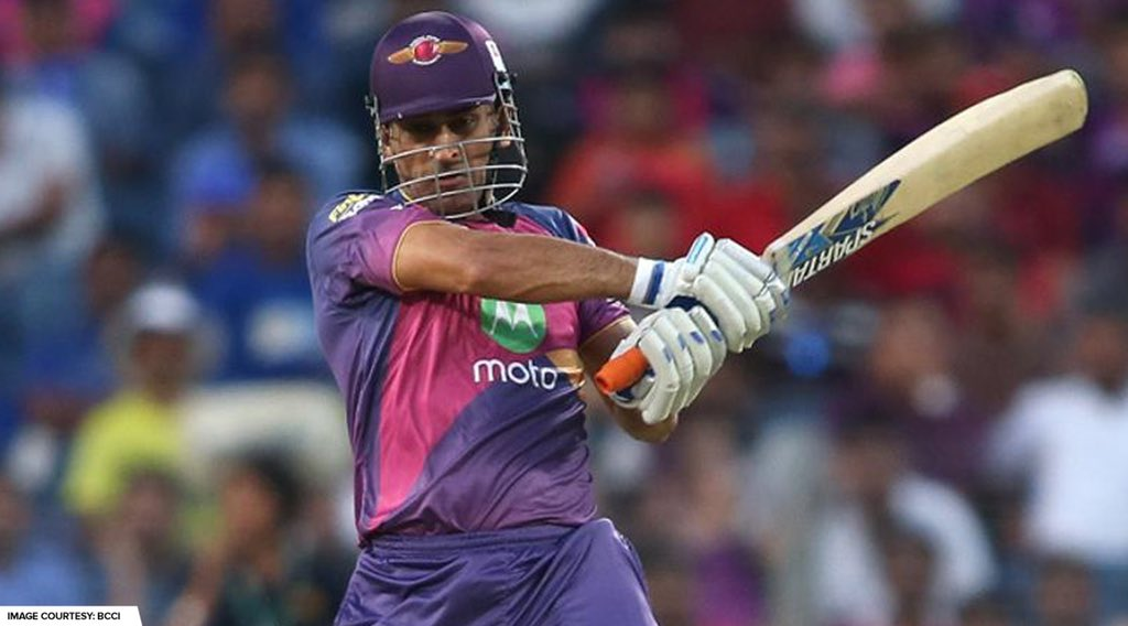 MS Dhoni hit 5 fours and 3 sixes his 61* (34) in #RPSvSRH from #VIVOIPL 2017 – True or False?  Answer 👇 & #ReLive the innings on #DhoniBirthdaySpecial, today at 11 AM:  📺: Star Sports 1/1HD/2/2HD/3/1 Hindi/1HD Hindi/First https://t.co/p33Eowe4vs