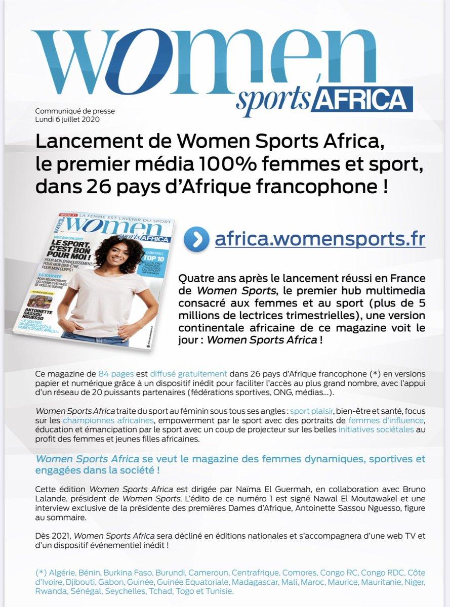 🛑 La femme sportive est bien l'incarnation de la femme #autonome #dynamique #persévérante #compétente Le sport est émancipateur💫 #fier avec la dream team #WomenSports de cette nouvelle aventure pour l'#Afrique là où se trouve la jeunesse terrienne #Afrique 😎 #WomenSportsAfrica https://t.co/VAMSopDTe3