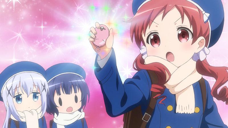 BS11でのTVアニメ第2期再放送第1羽「笑顔とフラッシュがやかましい これが私の自称姉です」をご覧いただきありがとうございました☆ 来週は第2羽「灰色兎と灰かぶり姫」をお届けします!来週もこの時間に集合です☆ #gochiusa https://t.co/9BlTwERru6