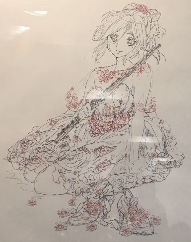 It'd be much easier if the artist has seen Hibike! Euphonium or Liz to Aoi Tori, but anyway here are her designs  Character name: Kasaki Nozomi pic.twitter.com/GO6SCabEdD