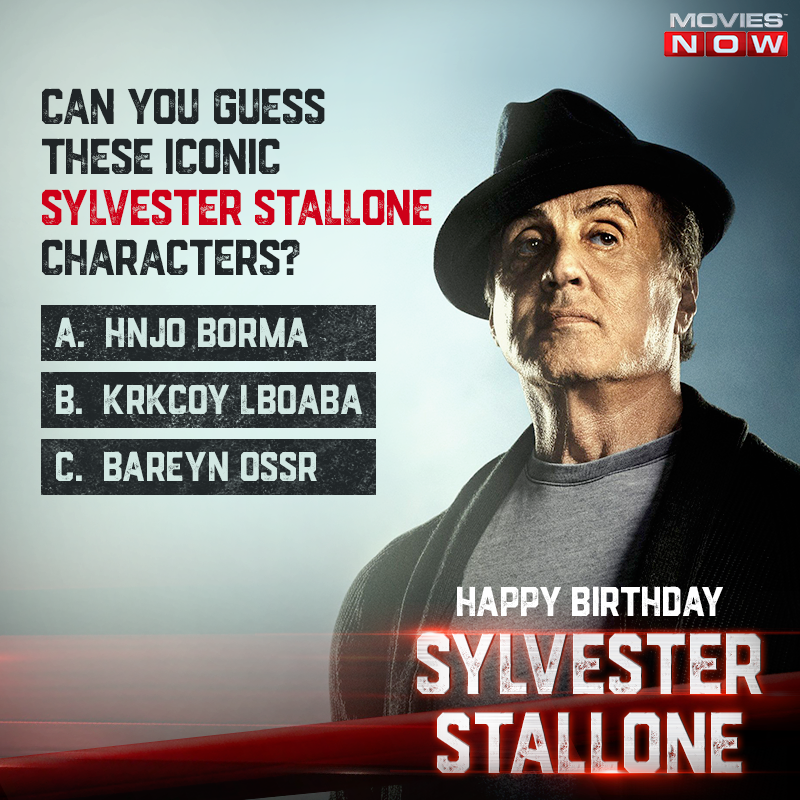 He is a one-man army, the ever resilient Italian stallion and the fastest gunslinger. Here's wishing the ultimate icon of action movies, @TheSlyStallone, a very #HappyBirthday!  #SylvesterStallone #HappyBirthdaySylvesterStallone https://t.co/vpCRIFyGMH