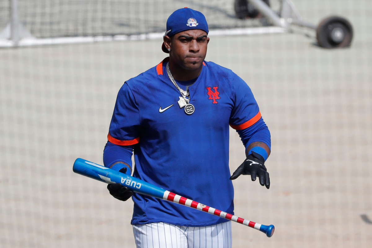 Yoenis Cespedes good day in field, at plate for Mets had one omission trib.al/qwkMs6Z