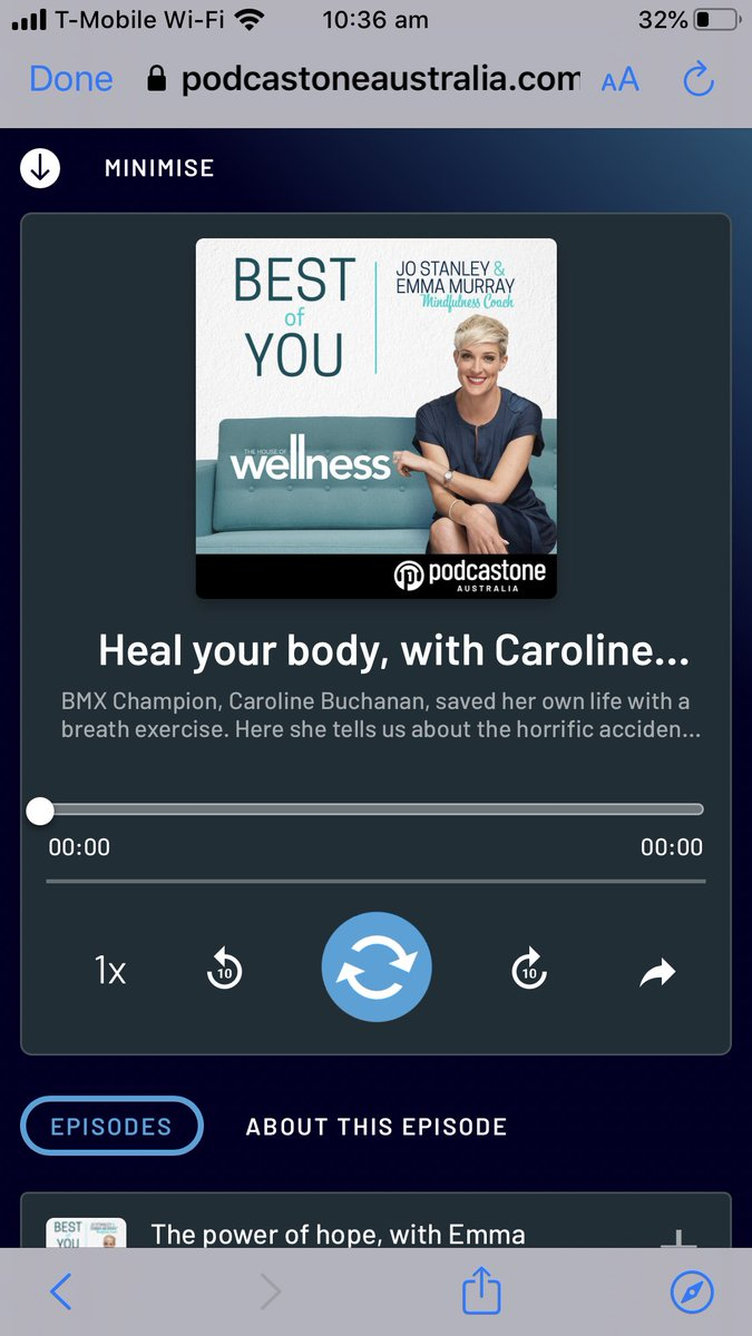 My Best of You podcast, shares my incredible story of survival from a horror smash and recovering!   Listen now: https://t.co/3V8Y6tBJzn   #bestofyoupodcast #thehouseofwellness #mindfulness https://t.co/fs8EqJfuvE