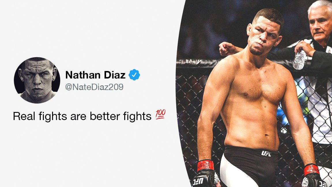 Stockton's finest stamps his approval on the new #UFC251 main event 💯  (via @NateDiaz209) https://t.co/gZtrsFqycz