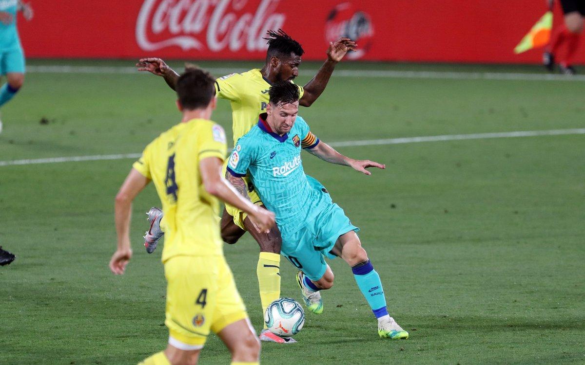 Xem lại bóng đá Villarreal vs Barcelona, La Liga – 6/7/2020