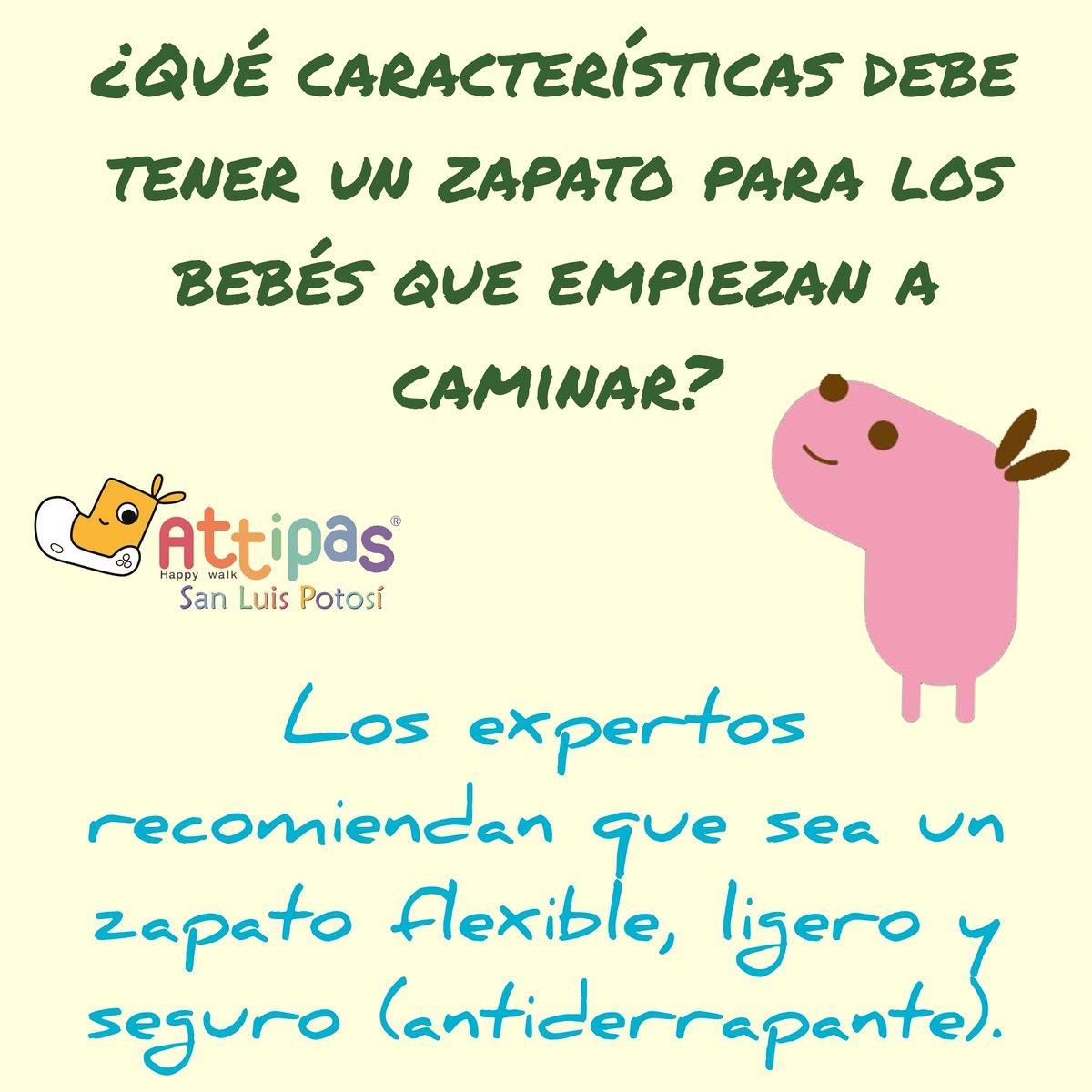 Attipas San Luis Potosí Responde: Son poquitas características pero en verdad muy importantes. Consulta a tu pediatra. #attipas #SanLuisPotosí #México#desdeelpregateo #primerospasos #gateacaminasaltacrececonattipaspic.twitter.com/6JkD2sVETR