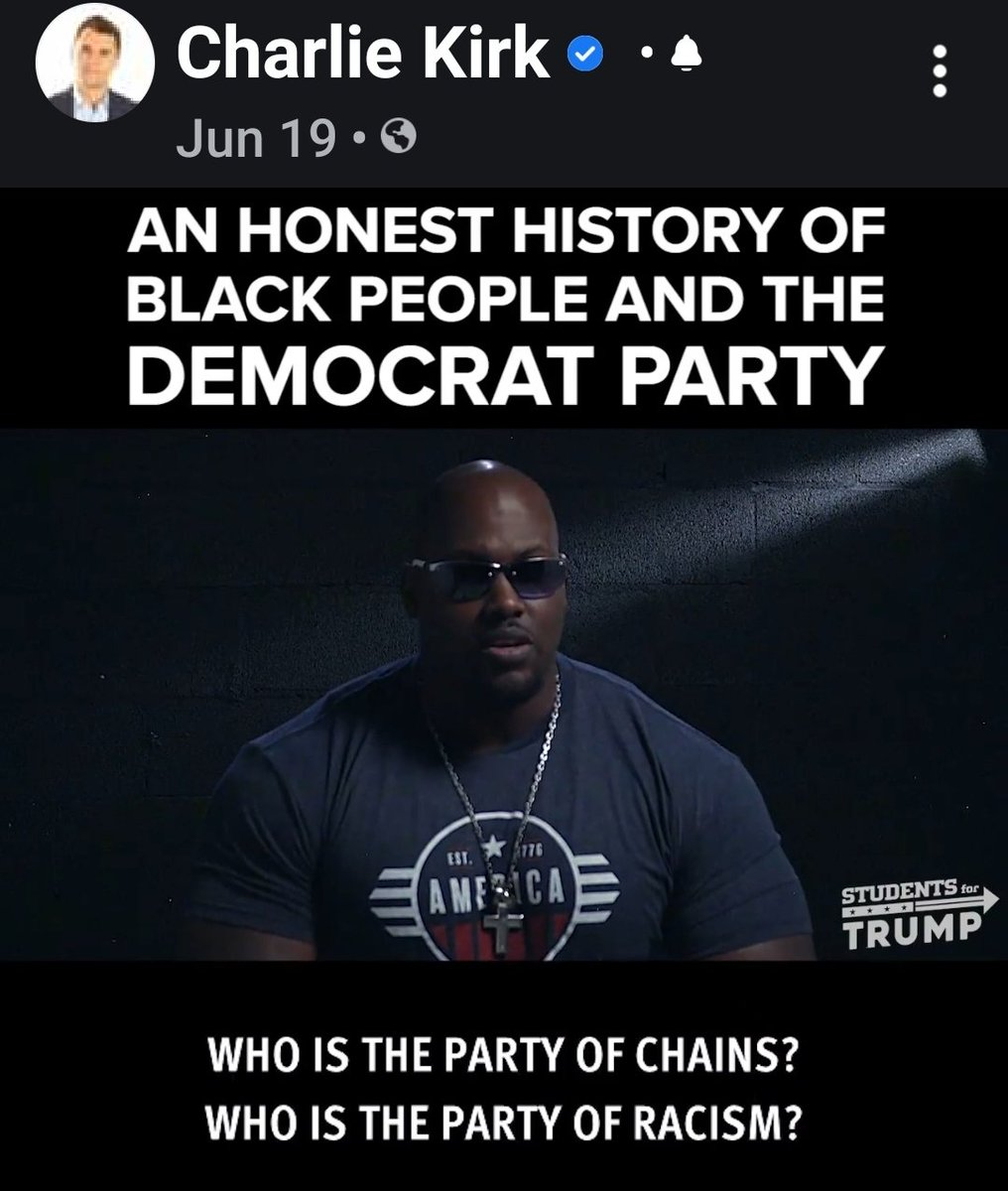 We're all hoping that the #Millennials who are lost nowadays will #WakeUp #ASAP! They are missing the opportunity where they can #EDUCATE themselves and #achievesuccess. @YoungEnt @BlackNews4Real @TallahForTrump @BlackManTrump #youngRepublicans https://www.facebook.com/realCharlieKirk/videos/289466635756833/…pic.twitter.com/tKs2b8kbTi